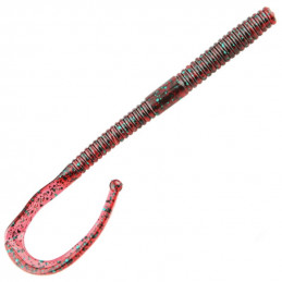 "7"" Red Bug Raptor Tail Worm..."