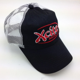 Black Mesh Trucker Cap...