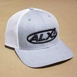 Grey Heather Mesh Trucker...