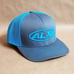 Graphite Blue Mesh Trucker...